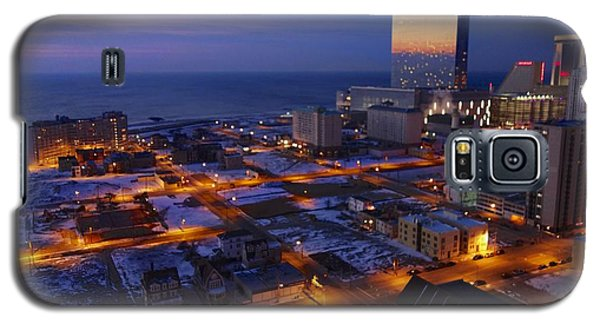 Atlantic City At Dawn Galaxy S5 Case