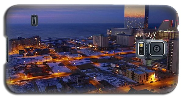 Atlantic City At Dawn Galaxy S5 Case