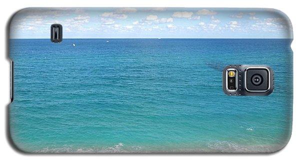 Atlantic Ocean In South Florida Galaxy S5 Case by Ron Davidson