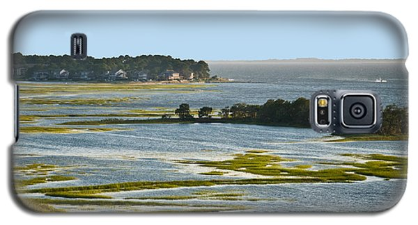 Galaxy S5 Case featuring the photograph Atlantic Tidal Flats  Cit 16  by G L Sarti