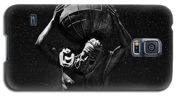 Atlas Galaxy S5 Case by Beverly Cash