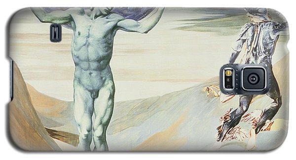 Gorgon Galaxy S5 Case - Atlas Turned To Stone, C.1876 by Sir Edward Coley Burne-Jones