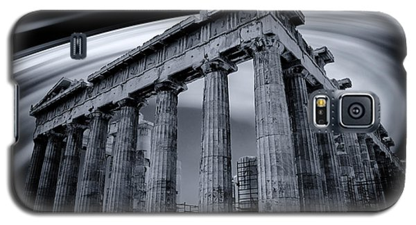 Galaxy S5 Case featuring the photograph Atop The Acropolis by Micah Goff