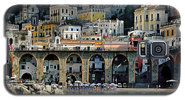 Atrani. Amalfi Coast Galaxy S5 Case by Jennie Breeze
