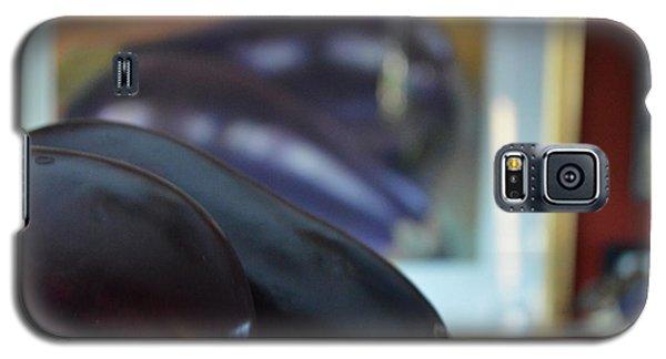 Galaxy S5 Case featuring the photograph Aubergine A Go Go  by Brian Boyle