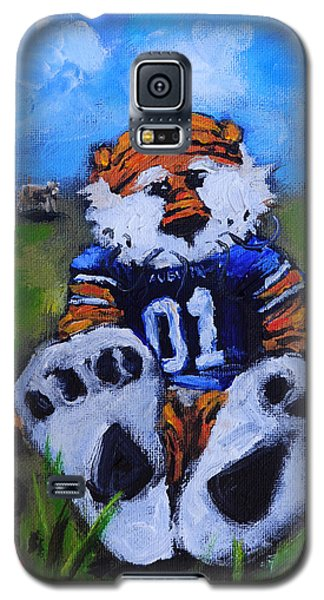 Aubie With The Cows Galaxy S5 Case by Carole Foret