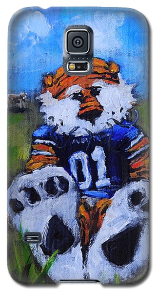 Florida State Galaxy S5 Case - Aubie With The Cows by Carole Foret
