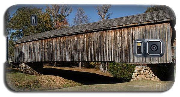 Auchumpkee Creek Bridge Galaxy S5 Case by Donna Brown