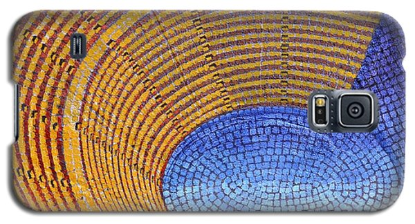 Galaxy S5 Case featuring the painting Auditorium by Mark Howard Jones