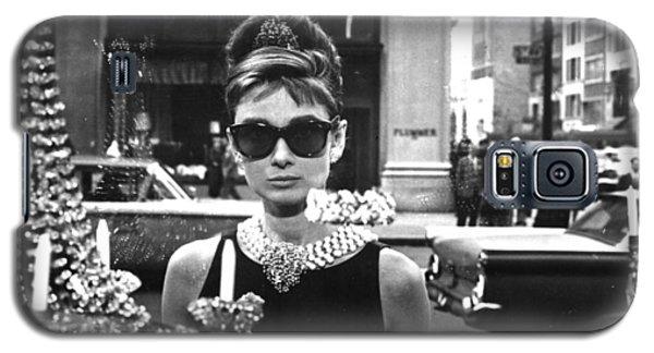 Audrey Hepburn Breakfast At Tiffany's Galaxy S5 Case