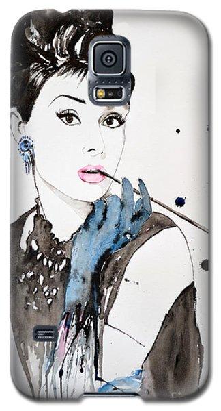 Audrey Hepburn Galaxy S5 Case by Ismeta Gruenwald