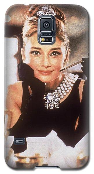 Audrey Hepburn Galaxy S5 Case by Georgia Fowler