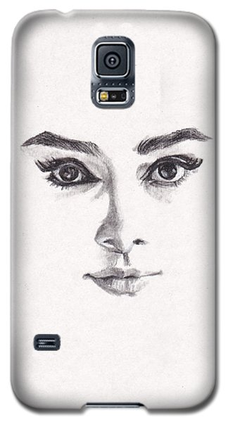 Audrey Galaxy S5 Case by Lee Ann Shepard