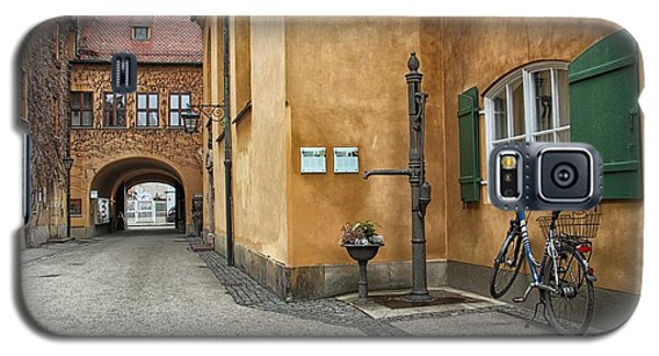 Galaxy S5 Case featuring the photograph Augsburg Germany by Paul Fearn