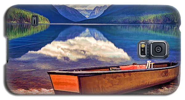 August Afternoon At The Lake Galaxy S5 Case by Jaki Miller