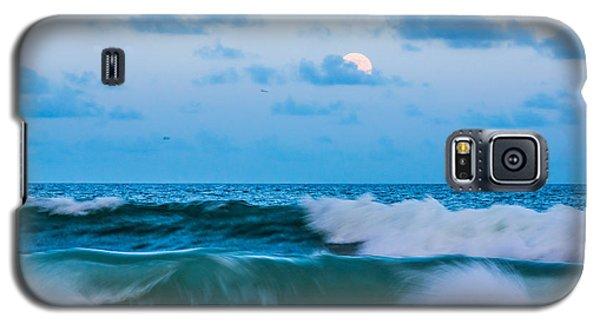 August Blue Moon Galaxy S5 Case