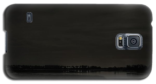 August Full Moon Over Lake Wausau Galaxy S5 Case