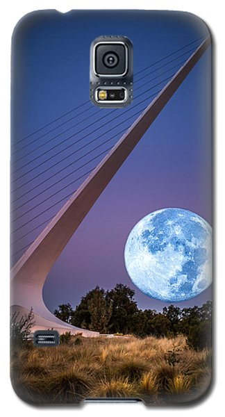August Moon Galaxy S5 Case by Randy Wood