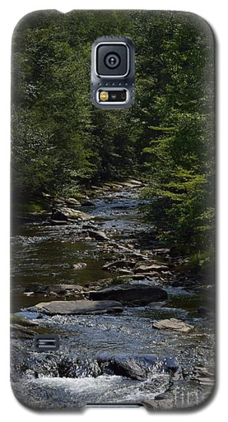 Galaxy S5 Case featuring the photograph August On Gandy by Randy Bodkins