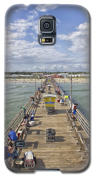 August On The Pier Galaxy S5 Case