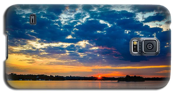 August Sunset Over Lake Nagawicka Galaxy S5 Case