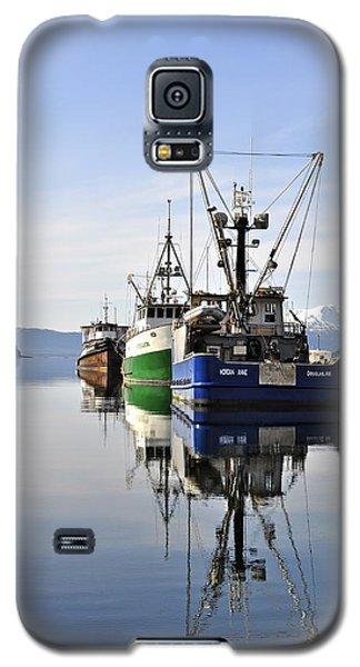 Auke Bay Reflection Galaxy S5 Case by Cathy Mahnke