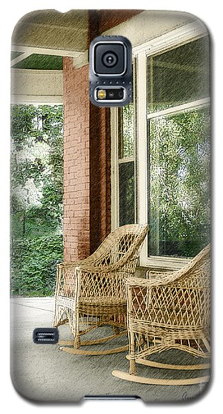 Aunt Jane's Porch Galaxy S5 Case