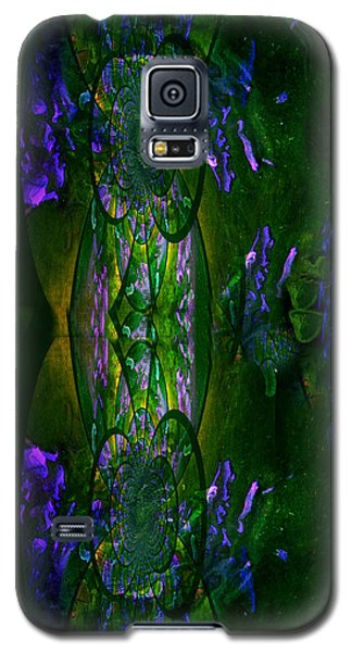 Galaxy S5 Case featuring the painting Aura Iphone Case by Robert Kernodle