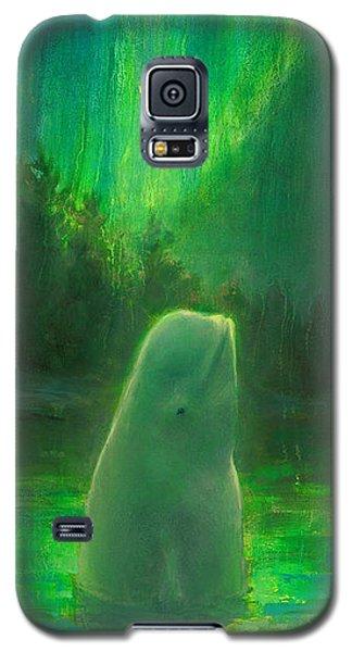 Aurora Beluga Galaxy S5 Case
