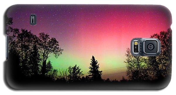Aurora In Autumn Galaxy S5 Case