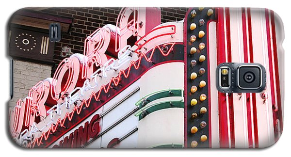 Aurora Theater Marquee Galaxy S5 Case by Tom Brickhouse
