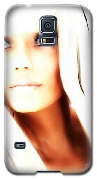 Galaxy S5 Case featuring the digital art Aurya by Sandra Bauser Digital Art