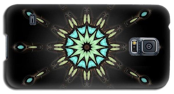 Galaxy S5 Case featuring the digital art Auspicious Star by Hanza Turgul