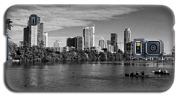 Austin Skyline Bw Galaxy S5 Case