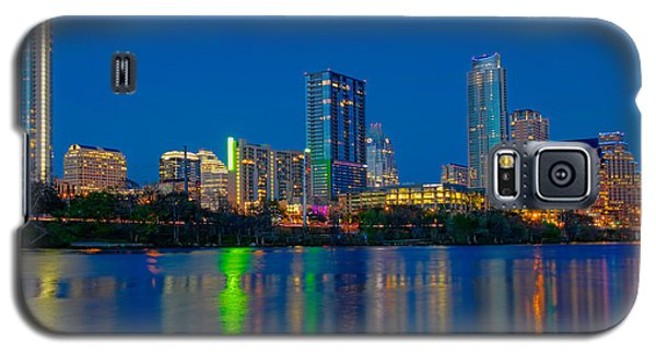 Galaxy S5 Case featuring the photograph Austin Skyline by Tim Stanley