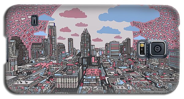 Austin Texas Abstract Panorama 3 Galaxy S5 Case
