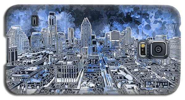 Austin Texas Abstract Panorama 5 Galaxy S5 Case