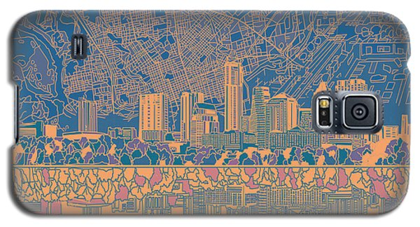 Austin Texas Skyline 2 Galaxy S5 Case