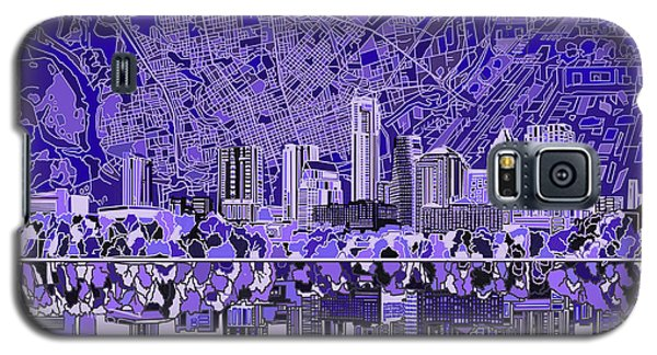 Austin Texas Skyline 4 Galaxy S5 Case