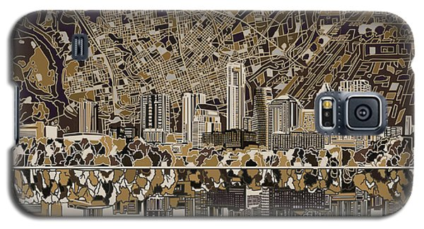 Austin Texas Skyline 5 Galaxy S5 Case