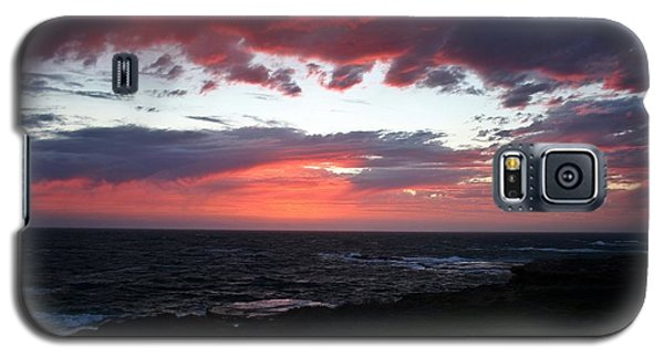 Galaxy S5 Case featuring the photograph Australia Sunset by Henry Kowalski