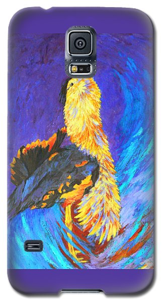 Australian Bustard Displaying Galaxy S5 Case