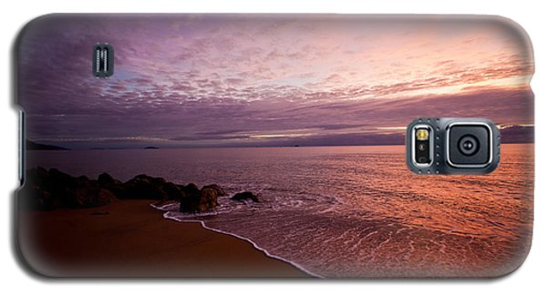Australian Coastline At Sundown Galaxy S5 Case by Carole Hinding