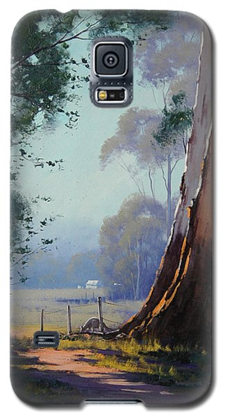 Australian Farm Painting Galaxy S5 Case
