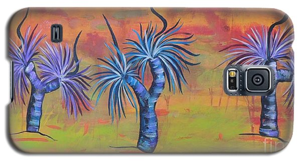 Australian Grass Trees Galaxy S5 Case by Lyn Olsen