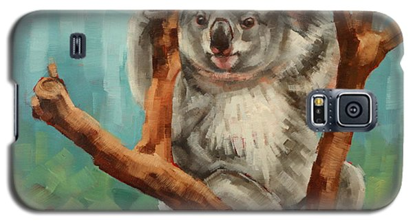Australian Koala Galaxy S5 Case by Margaret Stockdale