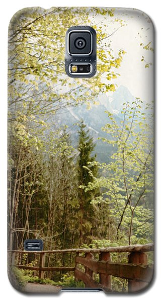 Austrian Woodland Trail And Mountain View Galaxy S5 Case