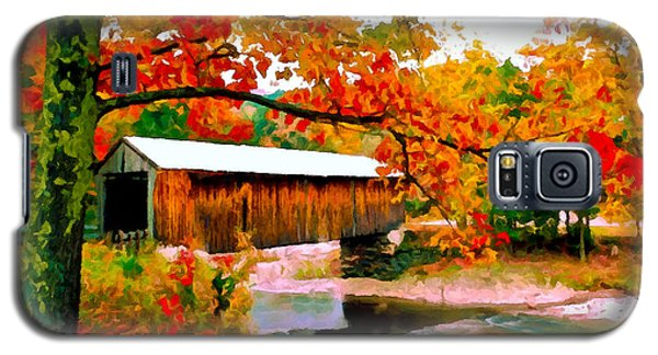 Authentic Covered Bridge Vt Galaxy S5 Case