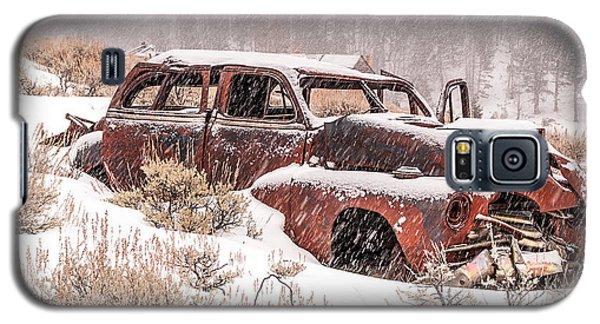 Auto In Snowstorm Galaxy S5 Case