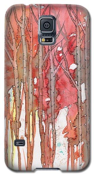 Autumn Abstract No.1 Galaxy S5 Case